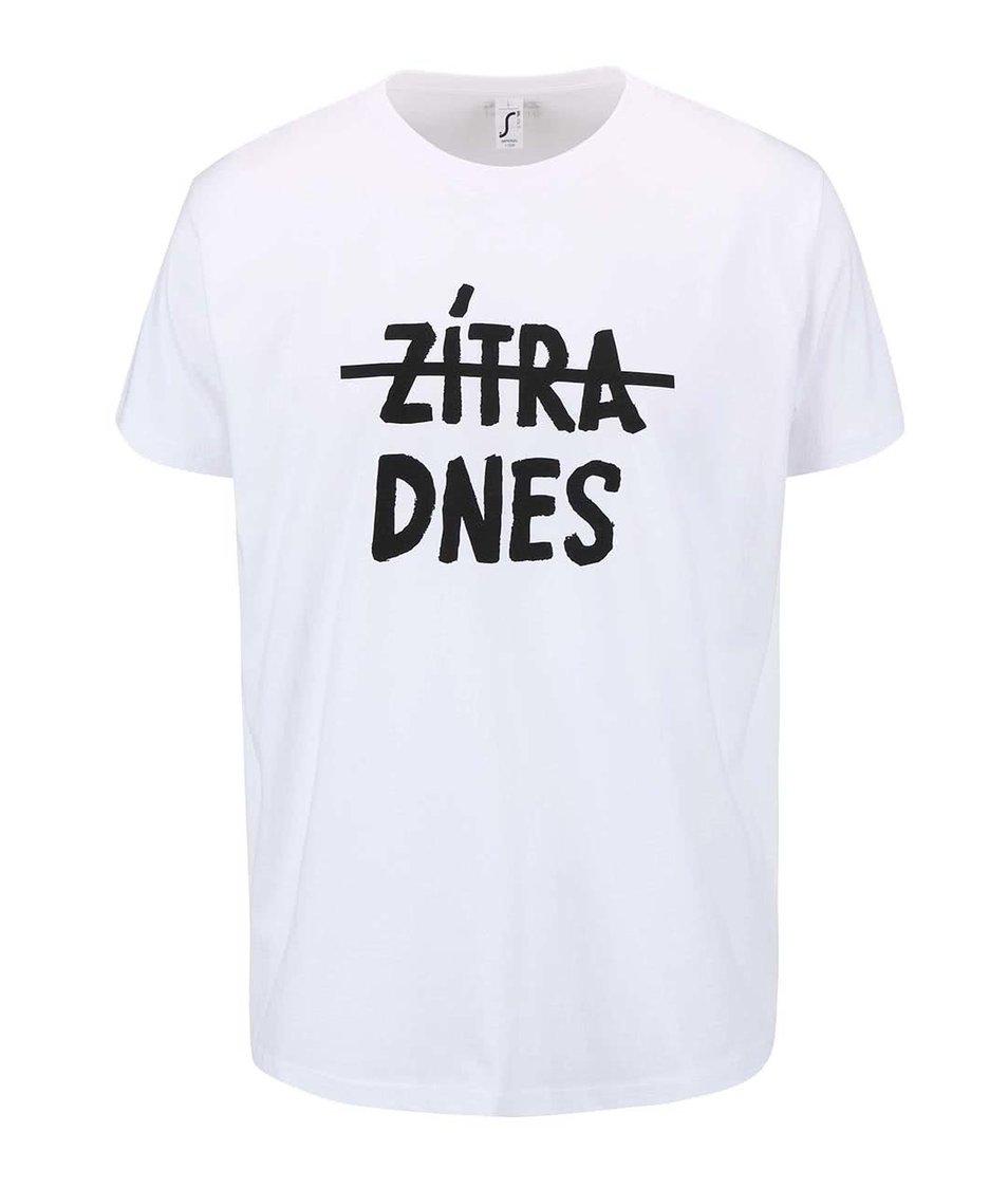 Bílé dámské tričko ZOOT Originál Wish Do - SLEVA!  d619de772b