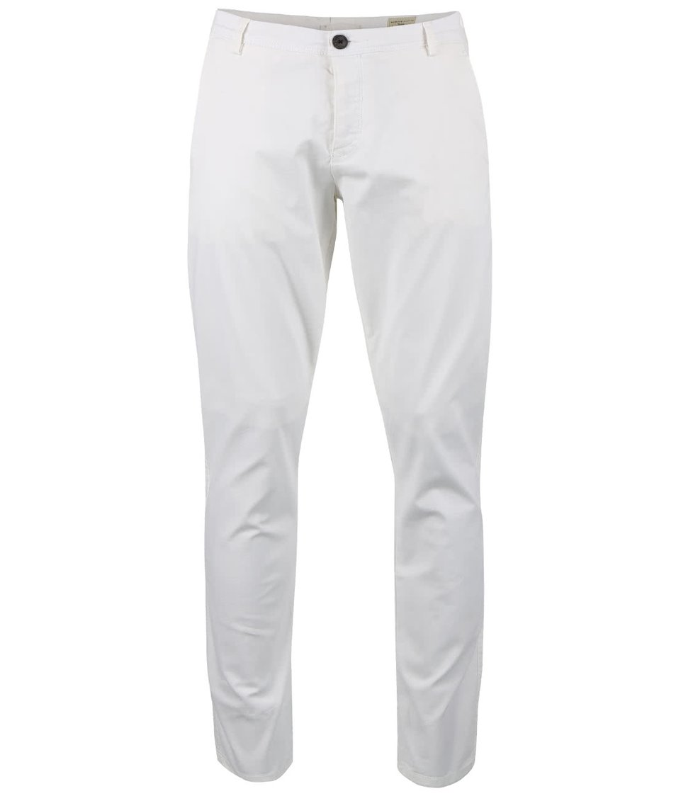 Krémové kalhoty volného střihu Selected Homme Luca