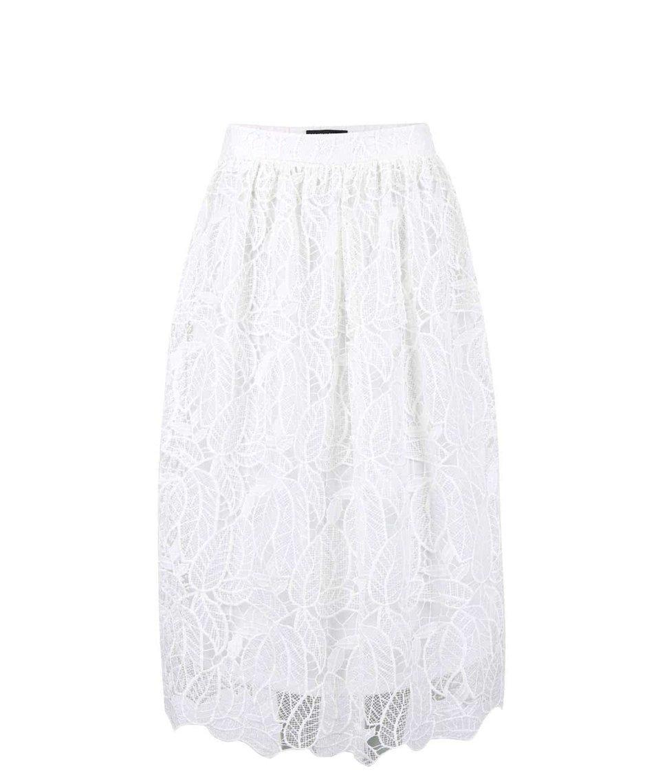 Krémová krajková sukně Dorothy Perkins