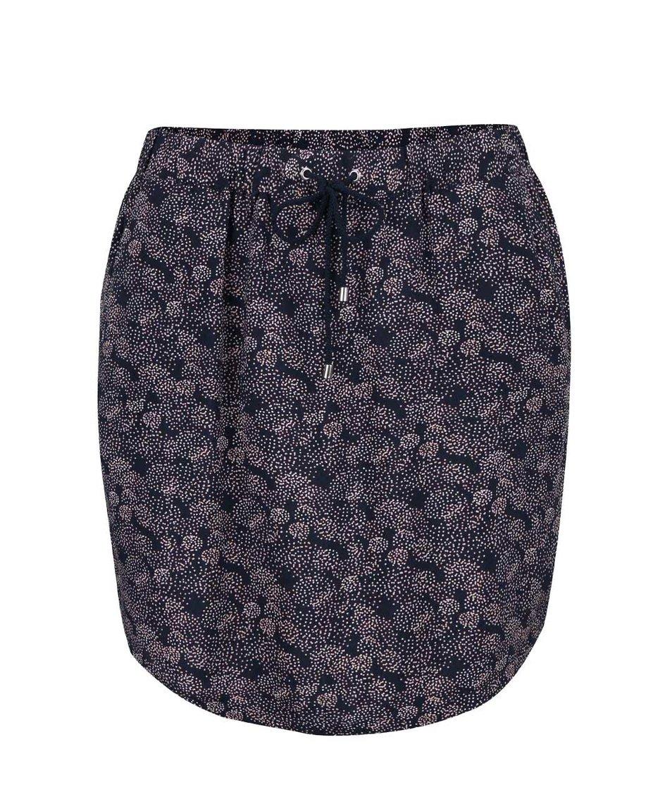 Růžovo-modrá sukně Vero Moda Super Easy