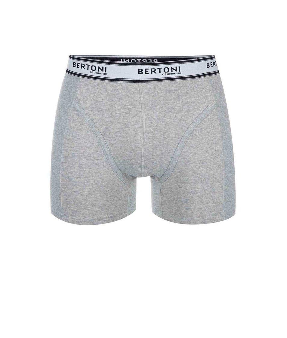 Šedé boxerky Bertoni Ulf