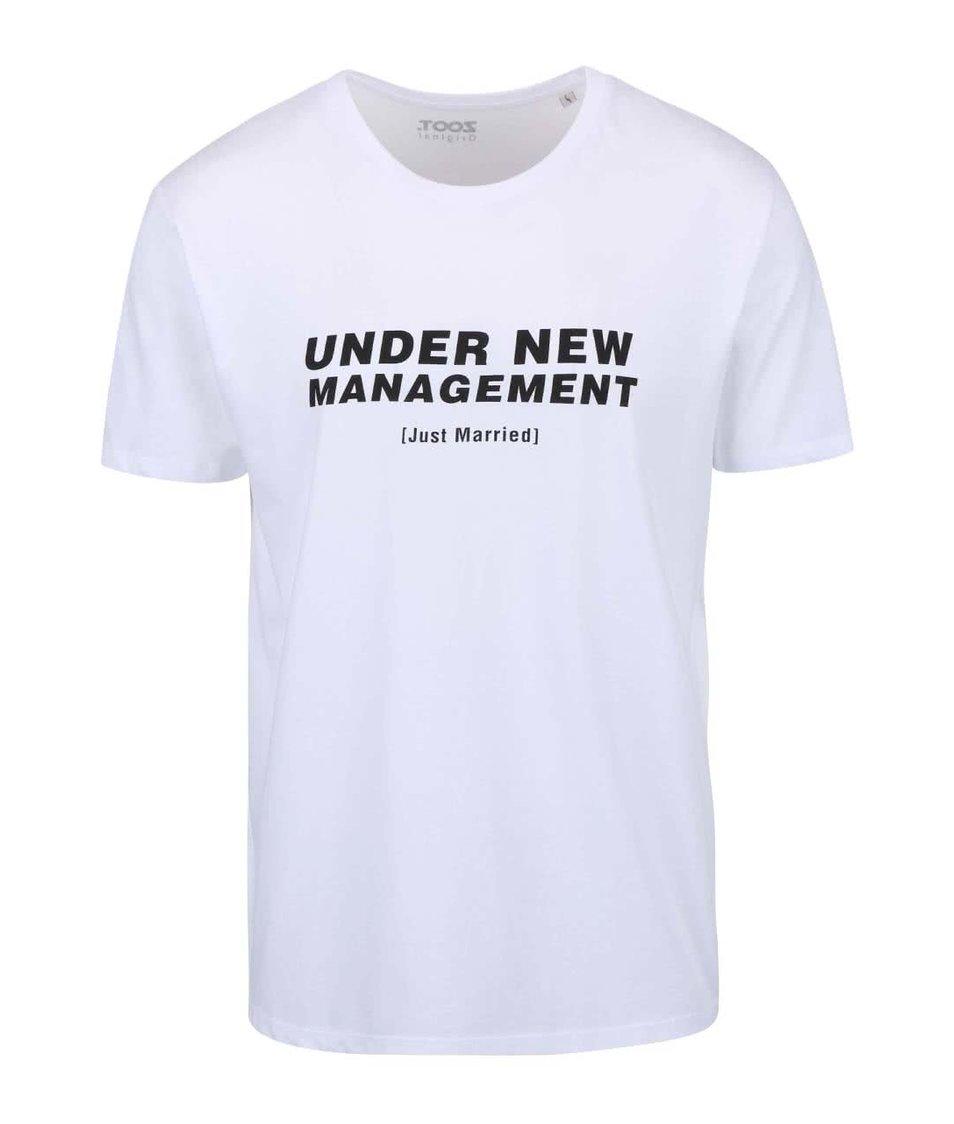 Bílé pánské triko ZOOT Originál - Under New Management