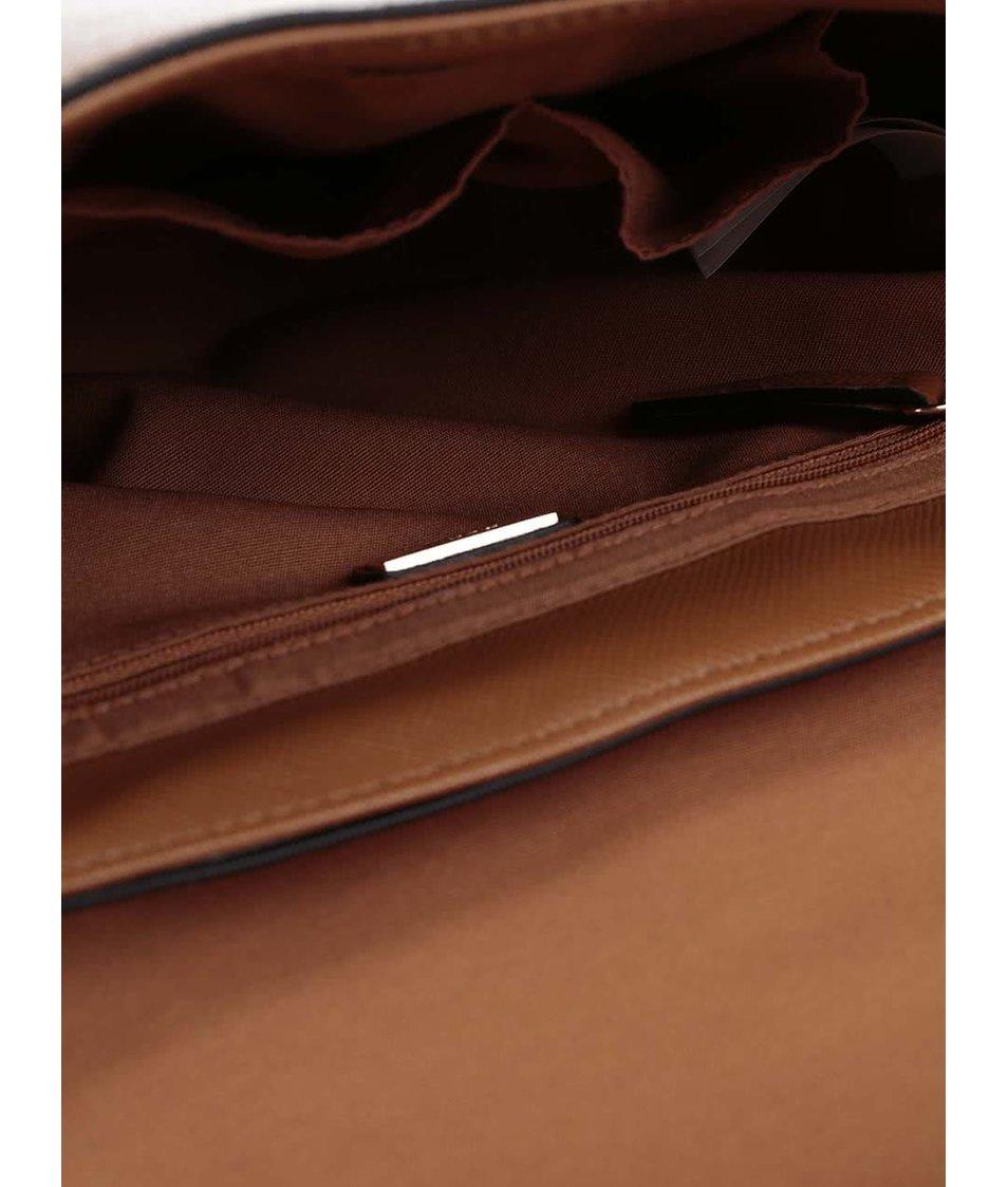 b780b7cdca Hnědá crossbody kabelka s detaily ve zlaté barvě ALDO Worley - Akční ...