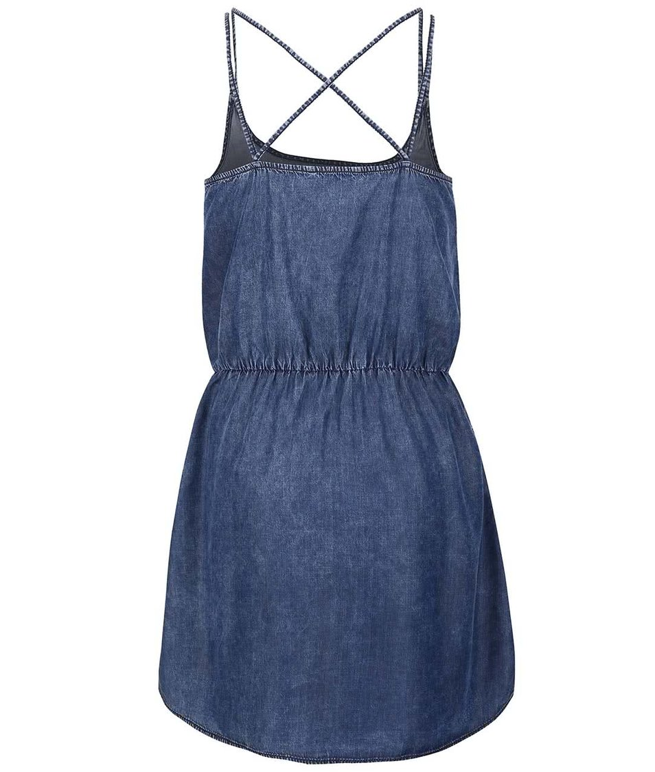 4006b8773a38 Modré džínové šaty ONLY Brandy Modré džínové šaty ONLY Brandy ...
