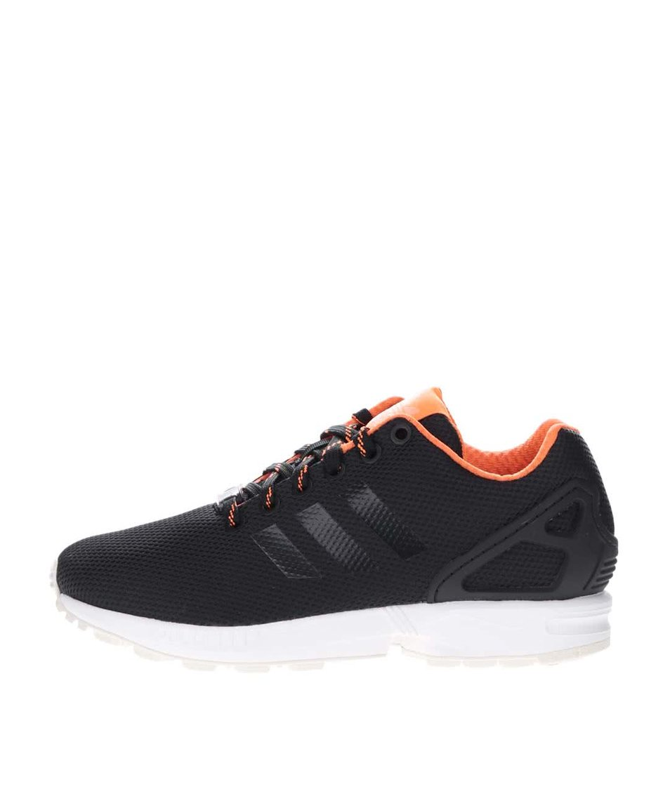 Černé unisex tenisky adidas Originals ZX Flux