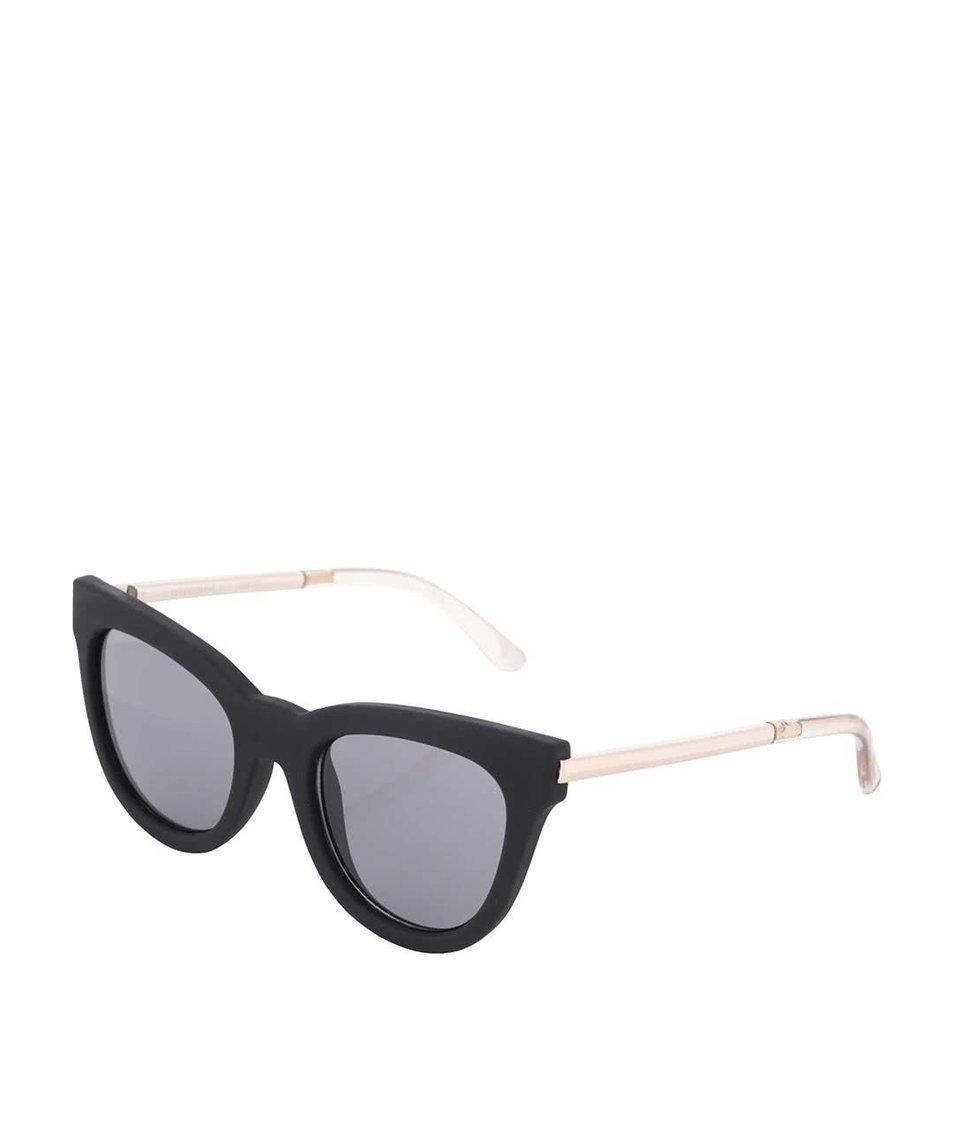 Černé dámské sluneční brýle Le Specs Le Debutante