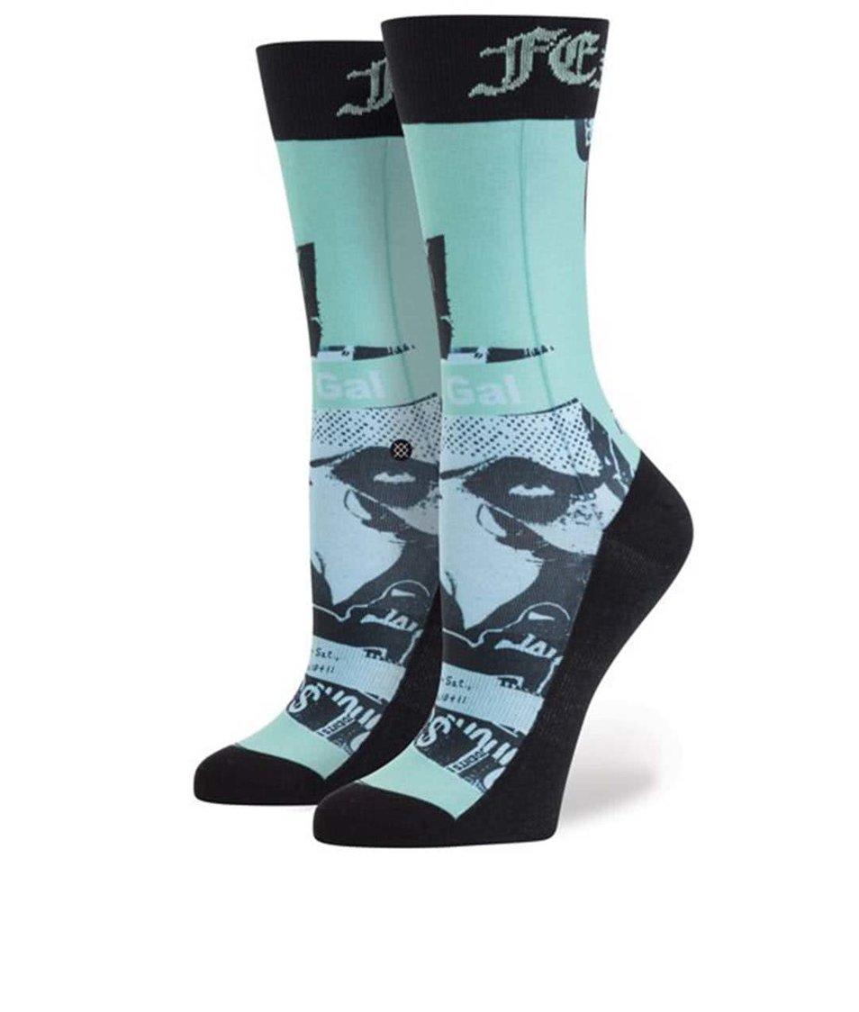 Modro-černé vzorované dámské ponožky Stance Most Wanted