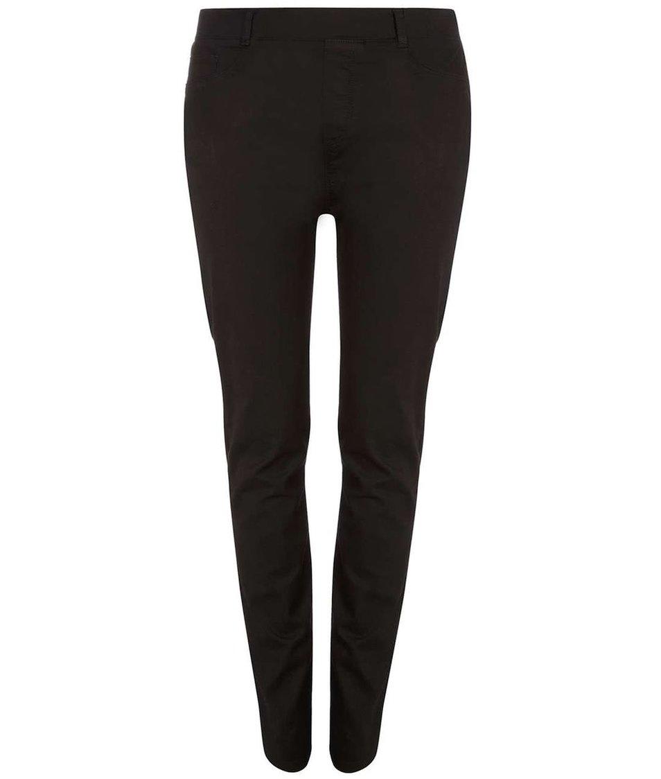 Černé elastické rovné džíny Dorothy Perkins Curve