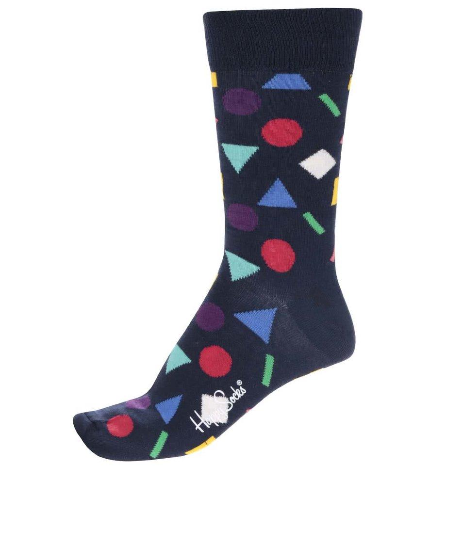 Tmavě modré pánské ponožky Happy Socks Play