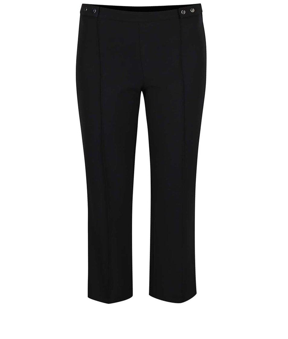Černé crop kalhoty Dorothy Perkins