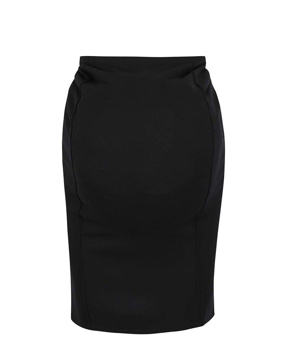 Černá těhotenská úzká sukně Mama.licious Luna
