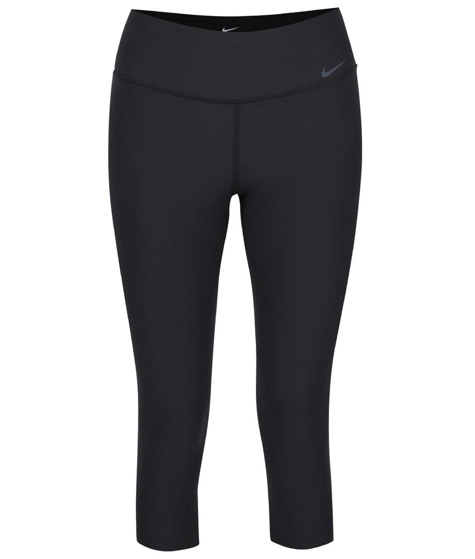 Černé dámské 3/4 legíny Nike Legend