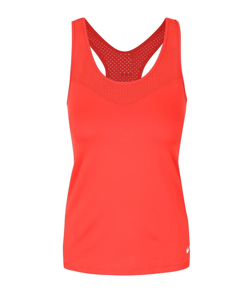 Červené dámské tílko Nike Pro Hypercool