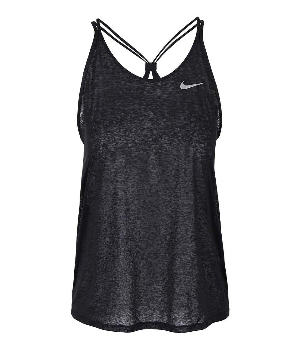Černé dámské tílko Nike Dri-Fit Cool