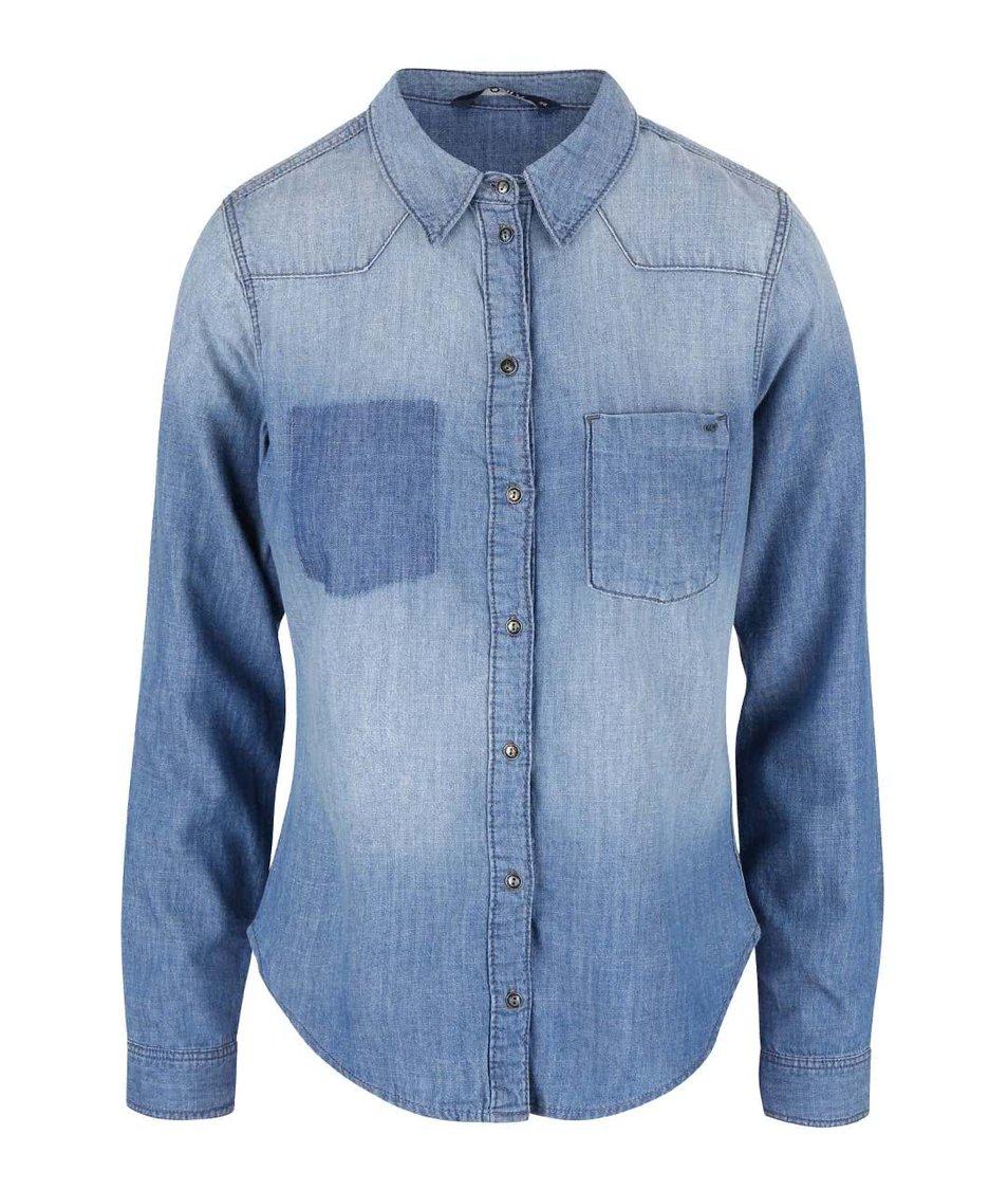 Modrá džínová košile ONLY Elin