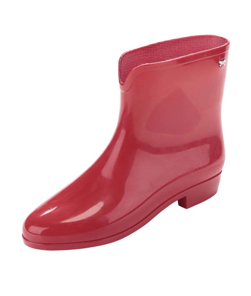 Červené holínky Zaxy Boot II