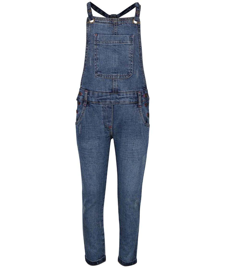 Modré holčičí lacláčové džíny Bóboli