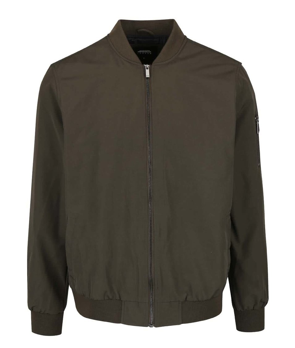 Khaki bomber bunda Burton Menswear London