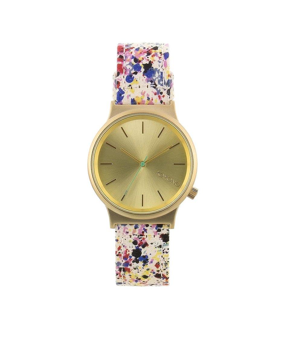 Barevné unisex hodinky Komono Wizard Print