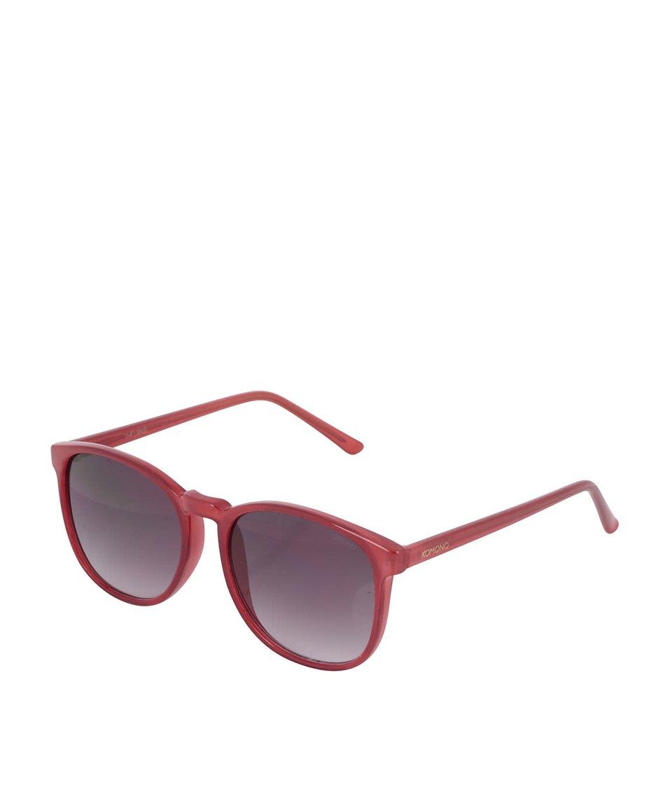 Červené dámské sluneční brýle Komono Urkel