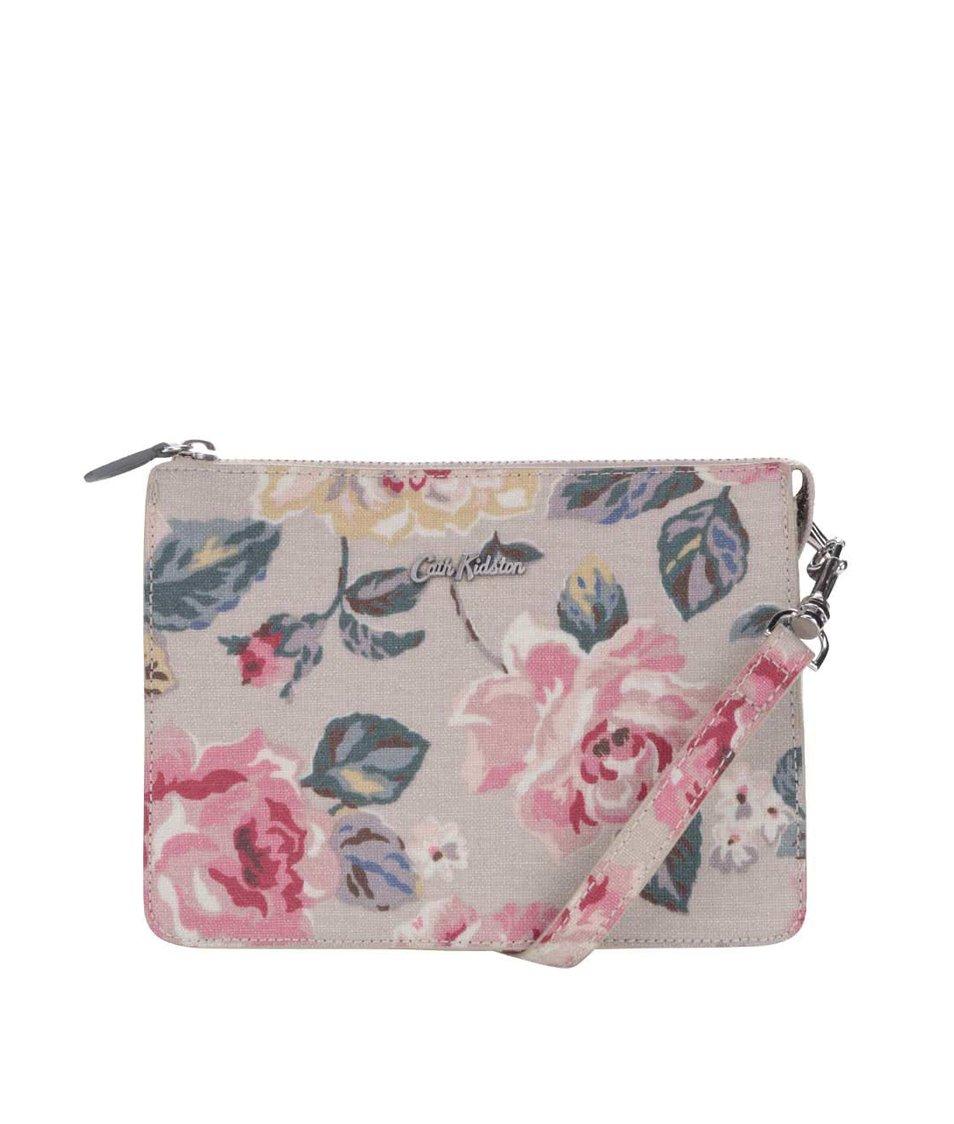 Šedá malá kabelka s květy Cath Kidston