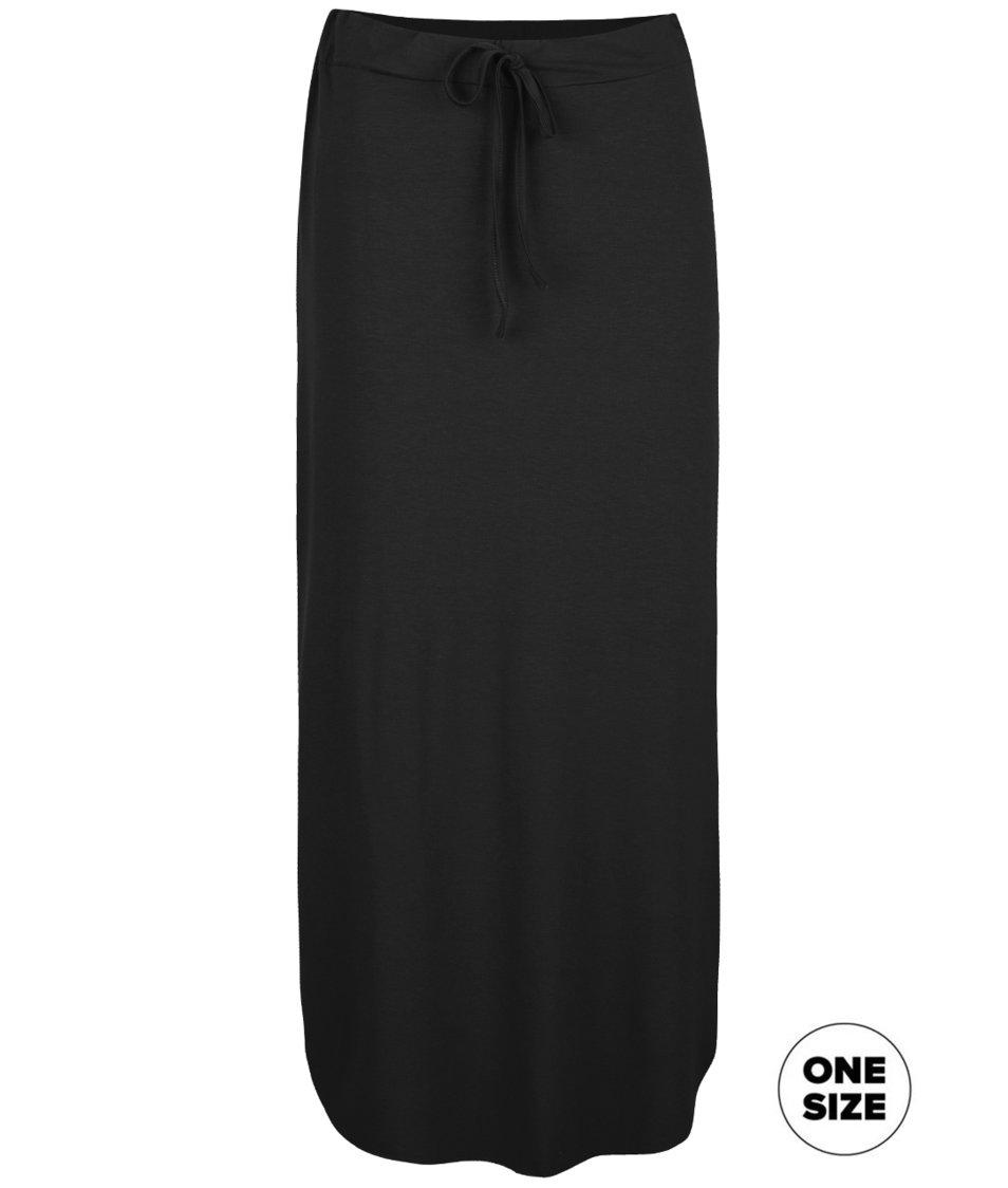 Černá midi sukně ZOOT simple