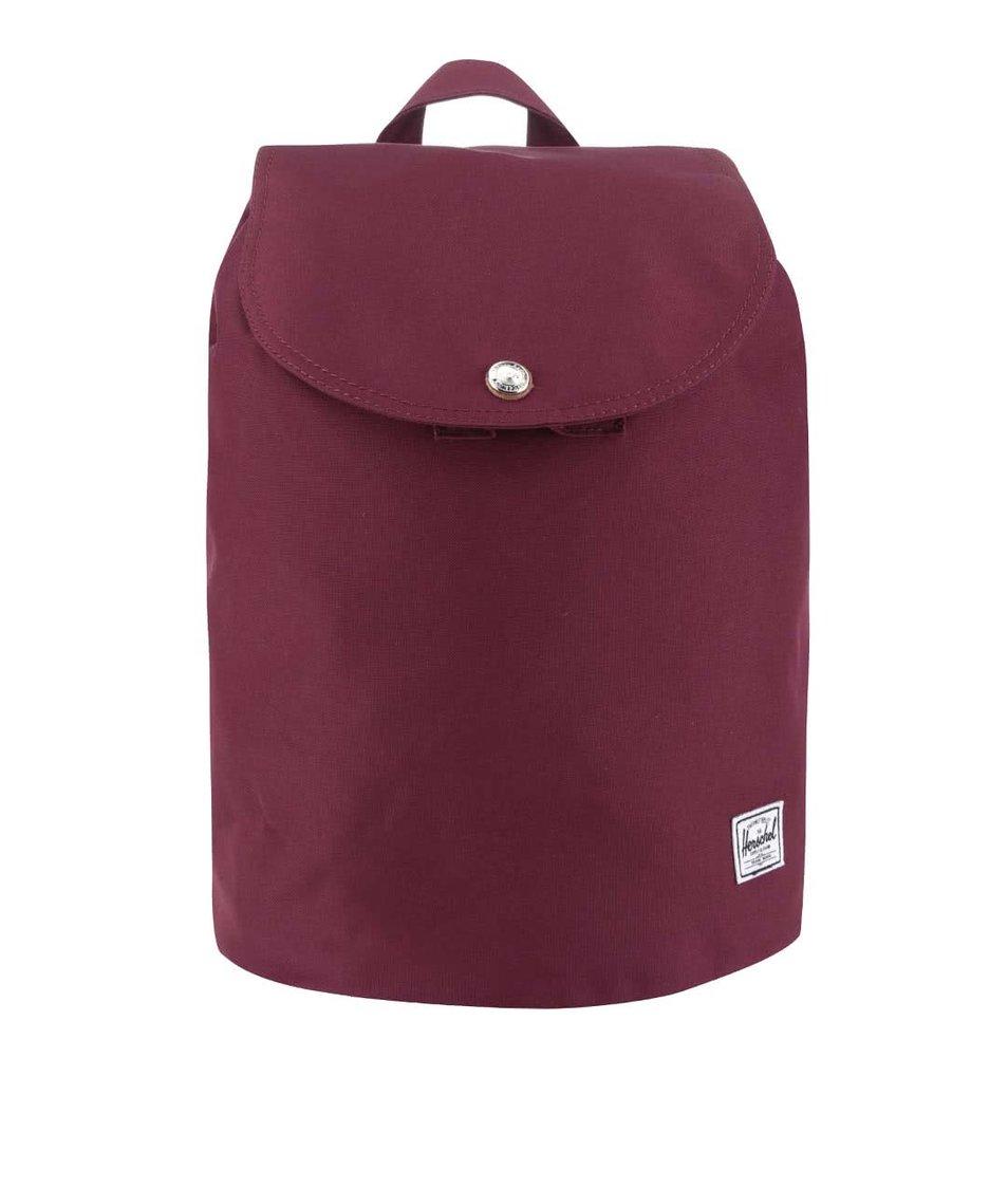 Vínový menší dámský batoh Herschel Reid