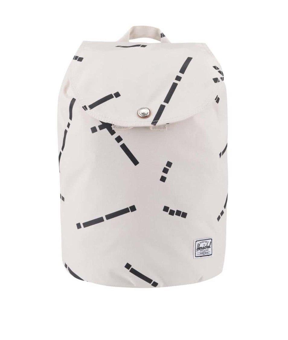 Béžový menší dámský vzorovaný batoh Herschel Reid
