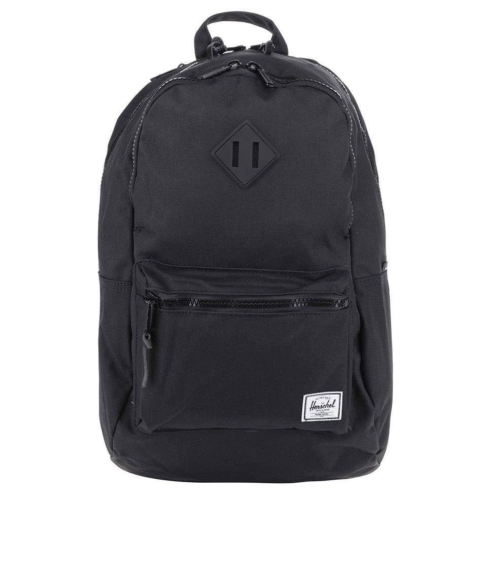 Černý batoh Herschel Lennox