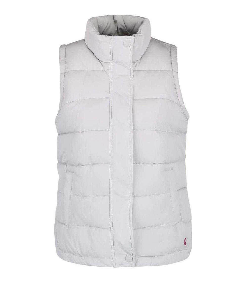 Světle šedá dámská prošívaná vesta Tom Joule Eastleigh