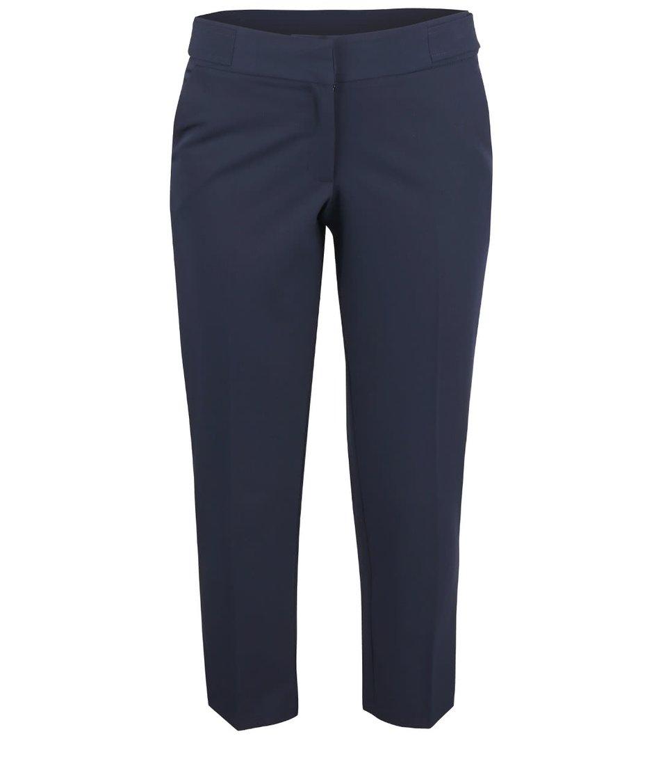 Tmavě modré osminkové kalhoty Dorothy Perkins