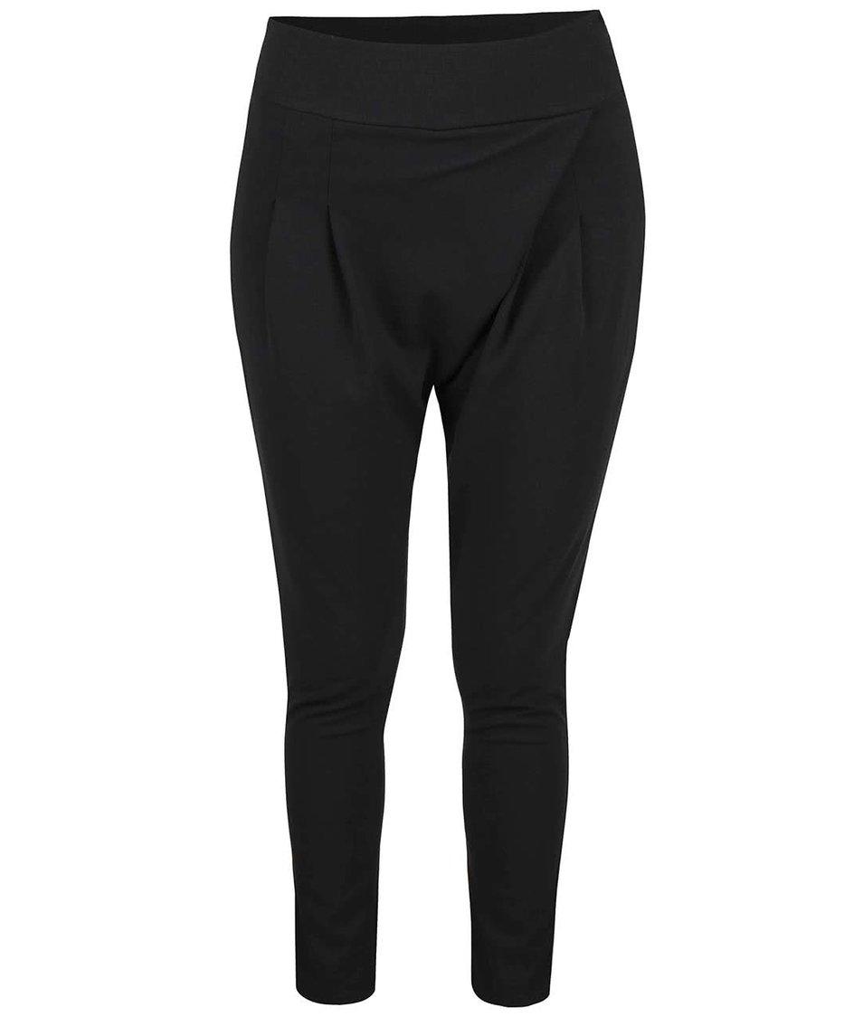 Černé volnější kalhoty Haily´s Rosy