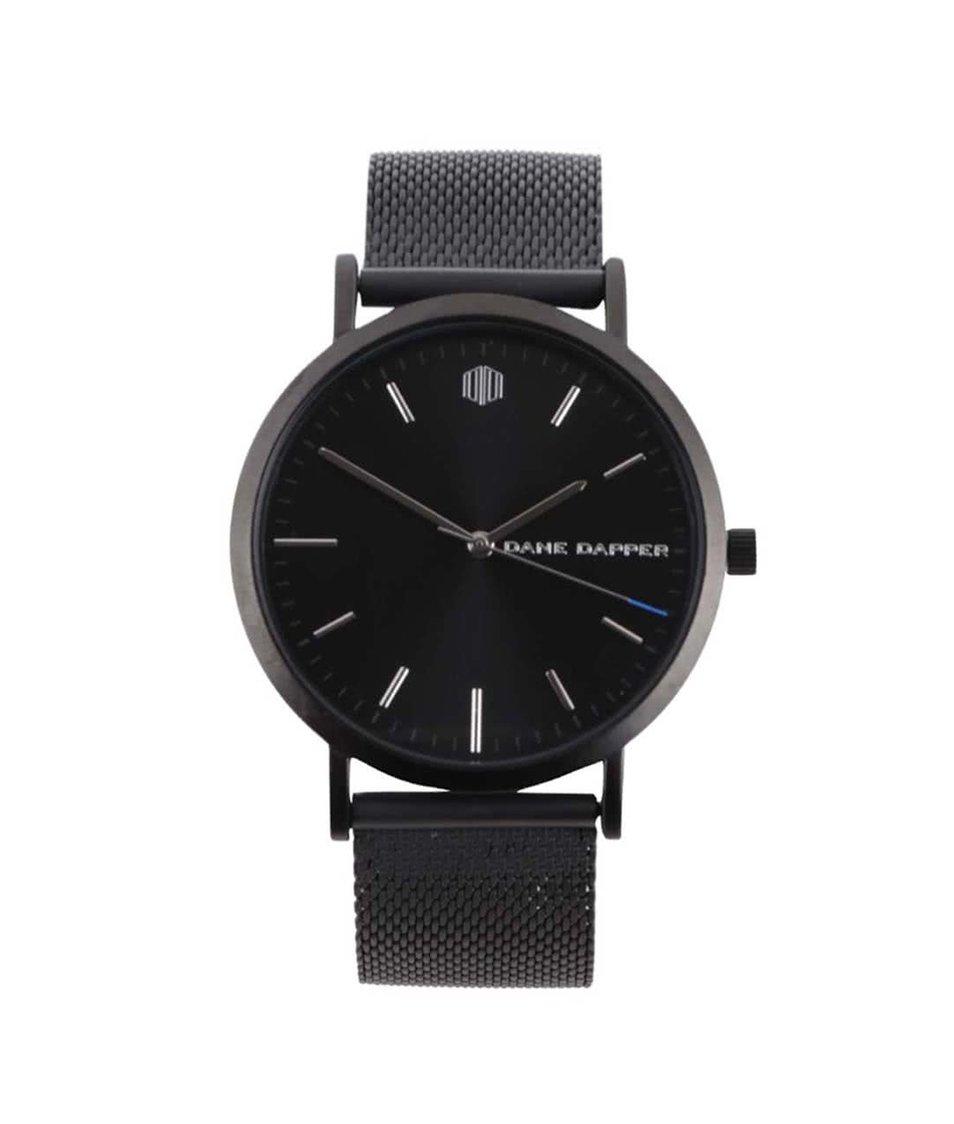 Černé pánské hodinky Lucleon August