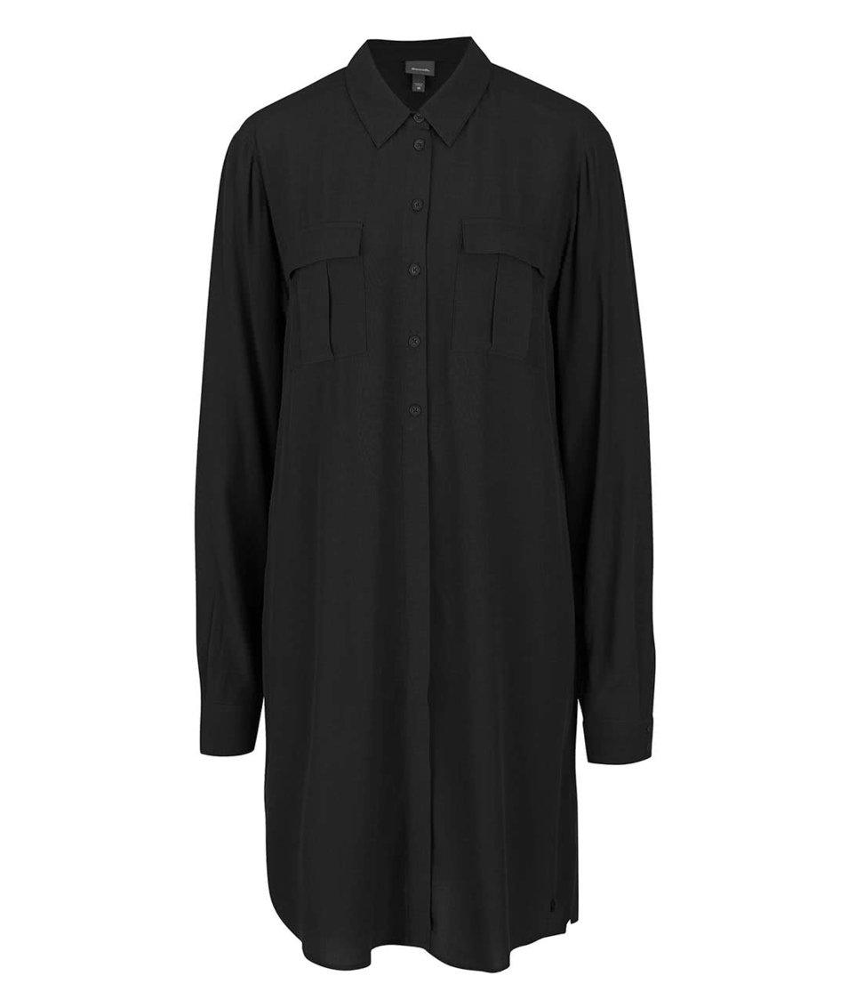 Černé propínací šaty Bench