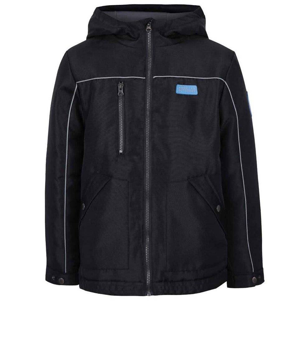 Černá klučičí bunda na zip 5.10.15.
