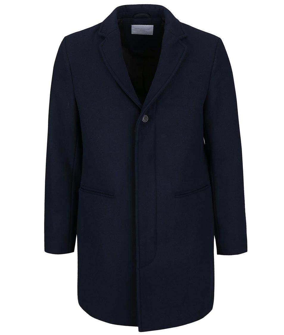 Tmavě modrý kabát Selected Homme Casper