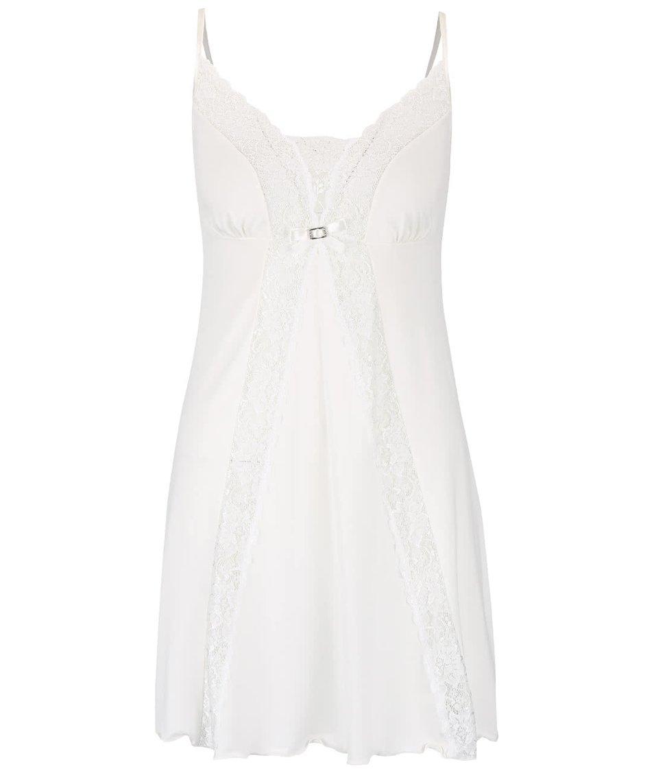 Krémová krajkovaná noční košilka Eldar Neva