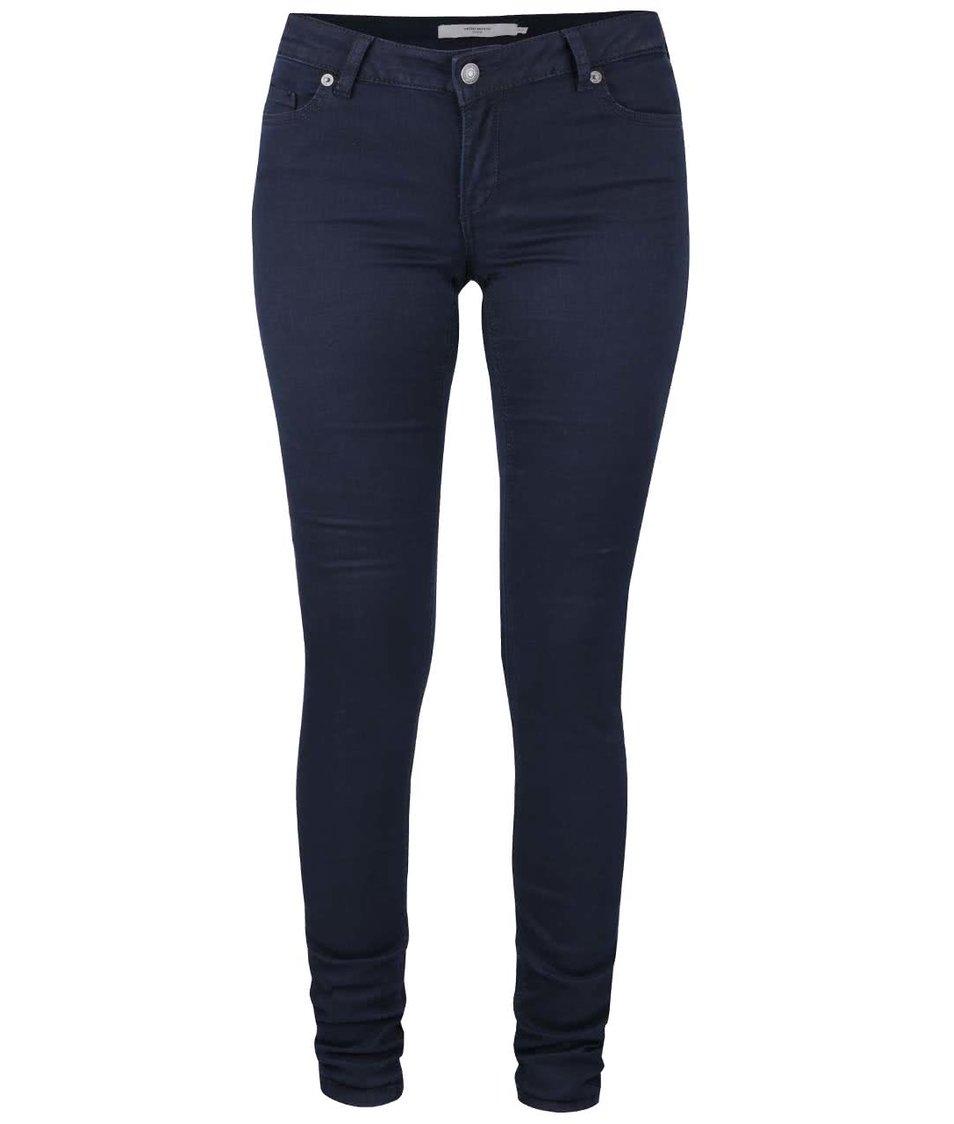 Tmavě modré slim džíny Vero Moda Five