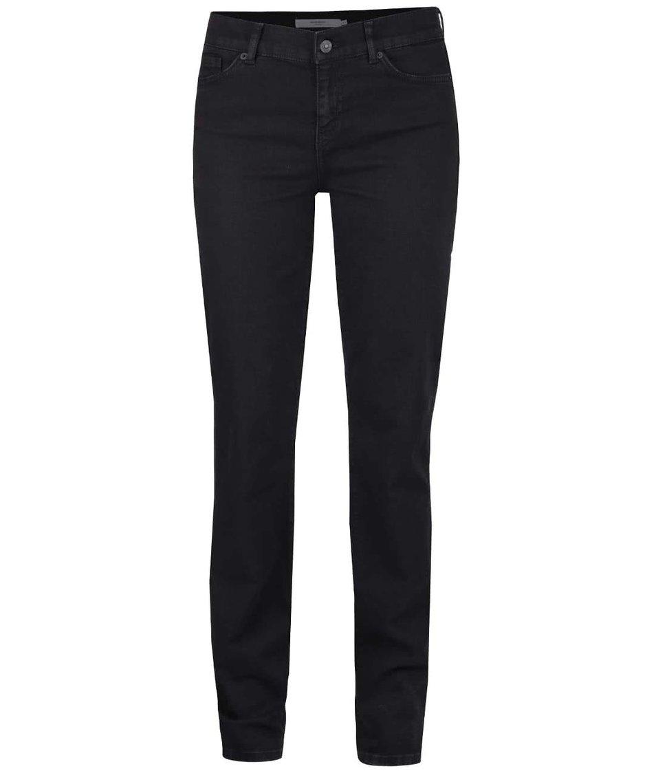 Černé rovné džíny Vero Moda Fifteen