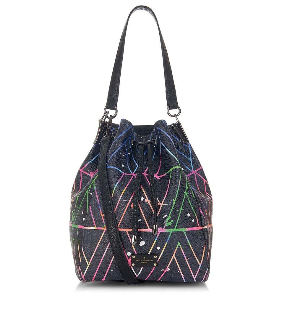 Černý vak s barevným vzorem Paul's Boutique Hattie