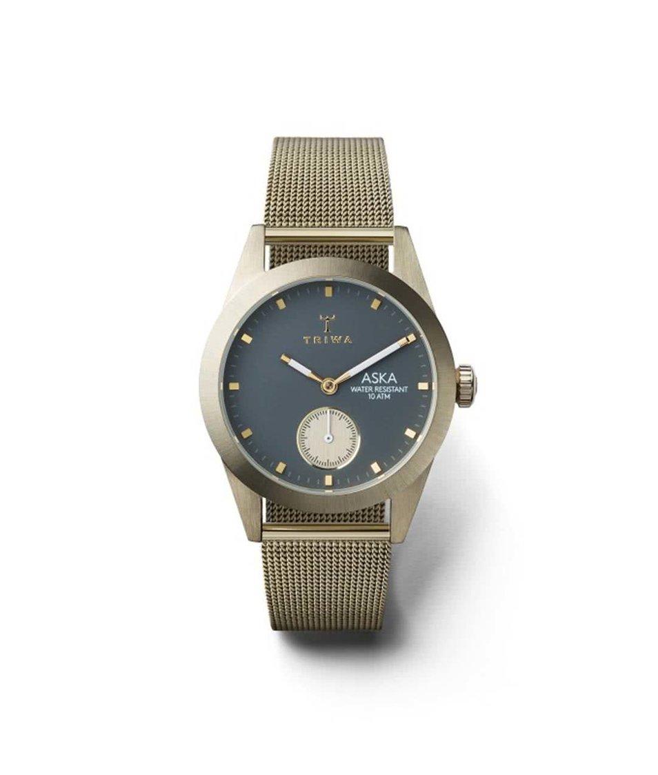 Dámské hodinky ve zlaté barvě TRIWA Ash Aska