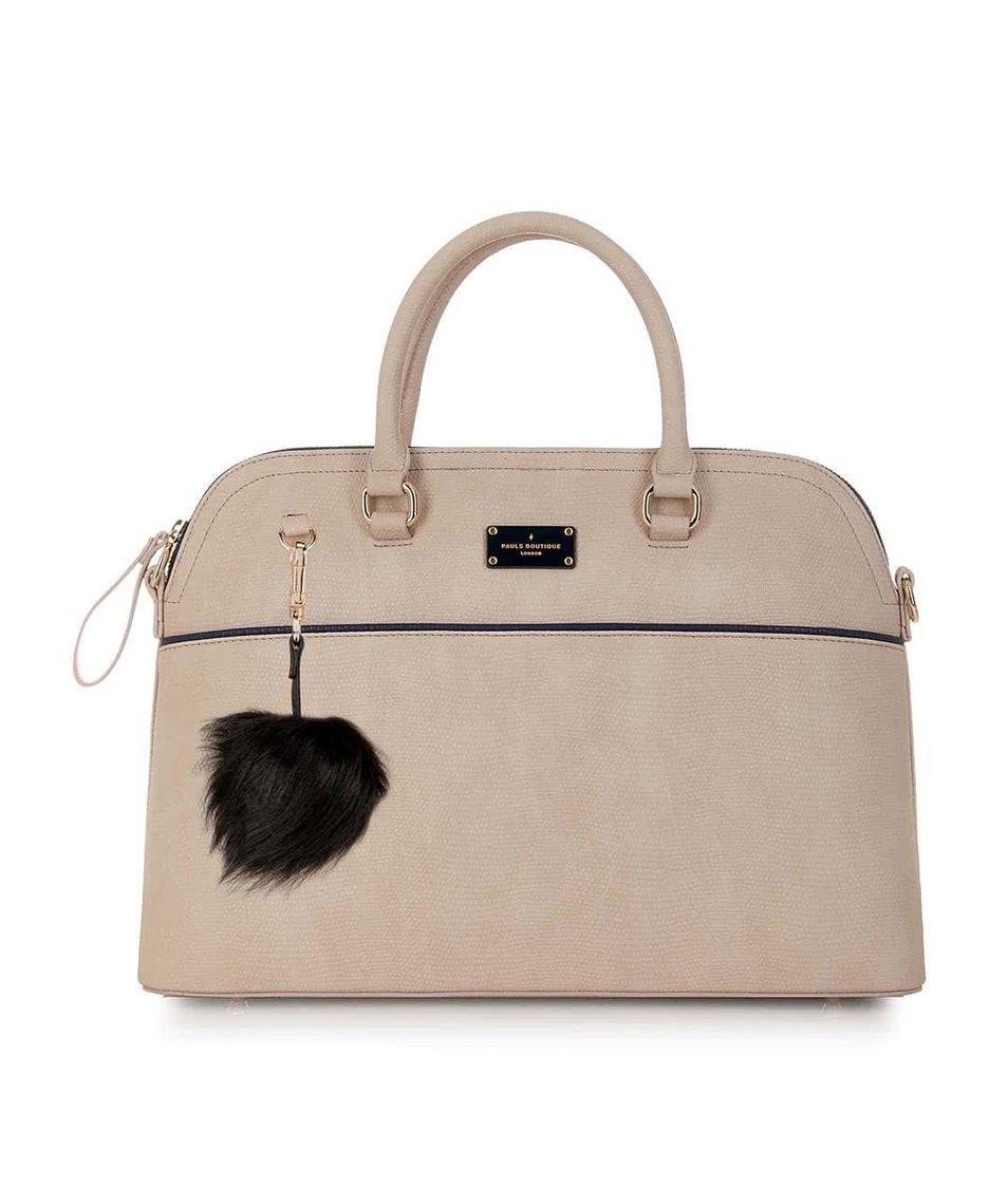 Béžová velká kabelka  Paul's Boutique Maisy
