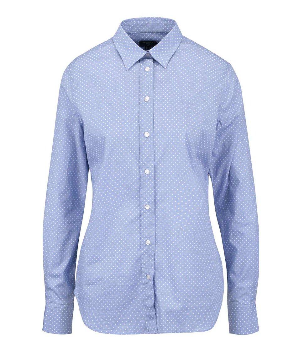 Světle modrá dámská košile s puntíky GANT