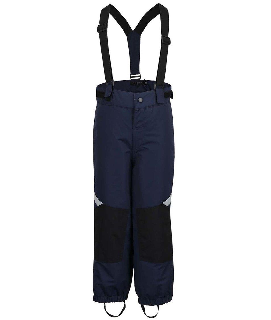 Modré klučičí zimní kalhoty name it Wind