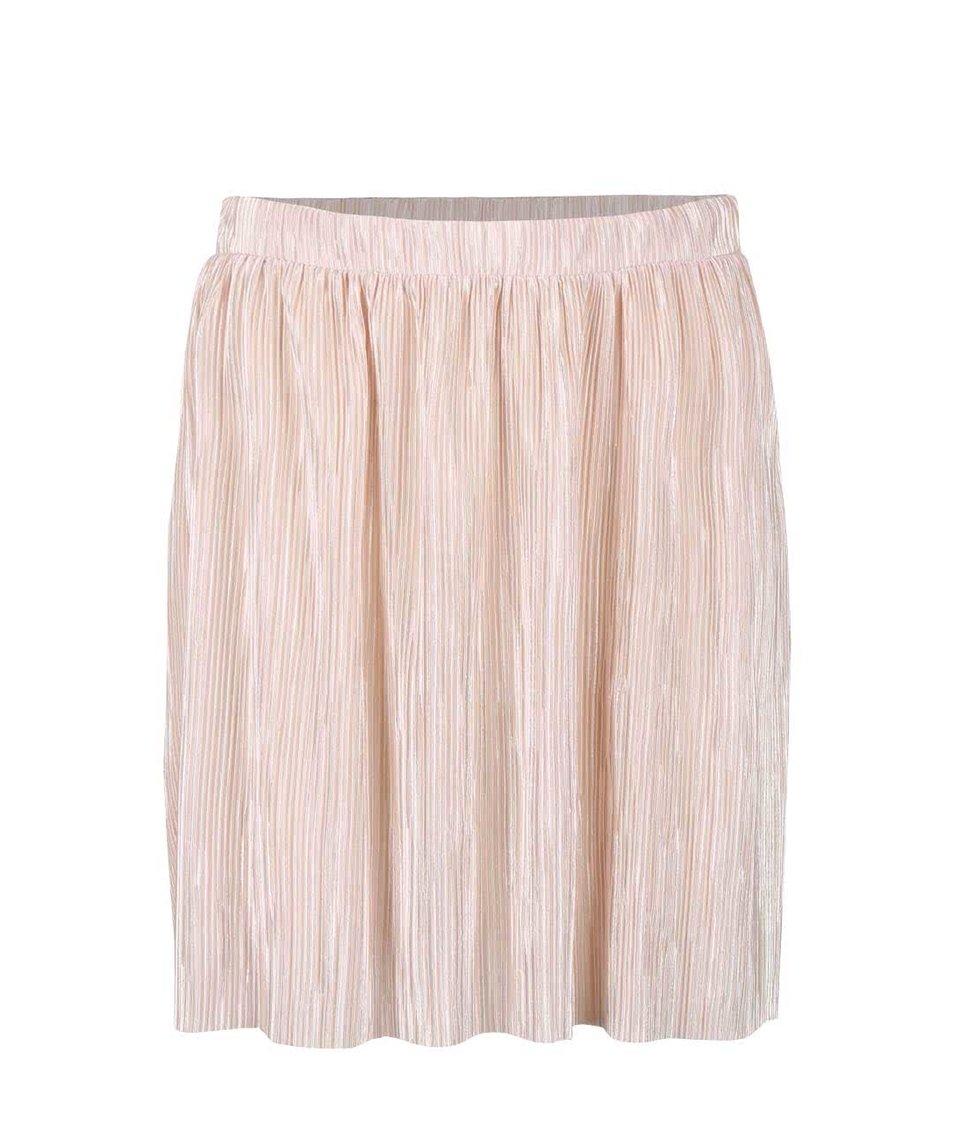 Tělová plisovaná sukně VILA Claudie