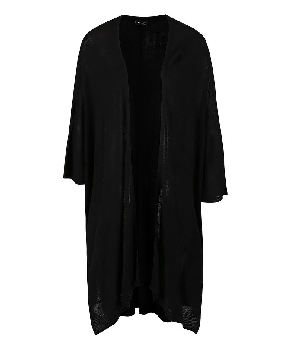 Černý volný cardigan VILA Tobi