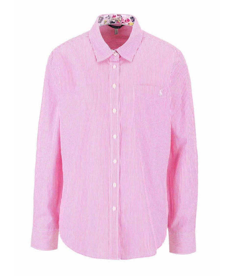 Růžová dámská pruhovaná košile Tom Joule Lucie