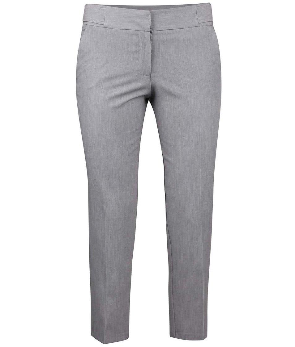 Šedé osminkové formální kalhoty Dorothy Perkins