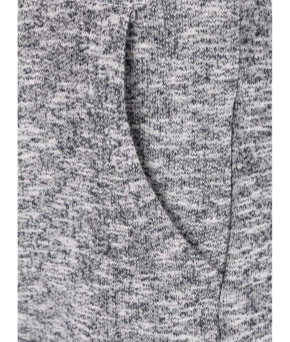 ... Modro-šedá žíhaná dámská mikina s vysokým límcem Ragwear Cara Organic  ... d789809c08