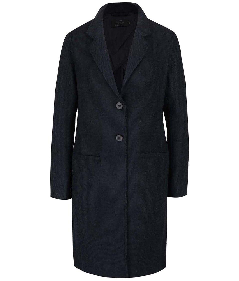 Tmavě modrý lehčí kabát ONLY Ella